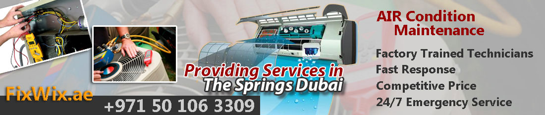 FixWix AC Repair Services springs Dubai